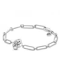 Pulseira Pandora de Elos e Rose Petals [599409C01-18]