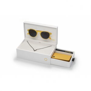 SUNGLASSES ONE ACTIVE BOX YELLOW [OSBHS4552PC321H]